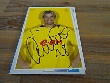 BERGDOLMO - BVB, AJAX & NORWAY - AUTOGRAPHCARD - ORIGINAL SIGNED **