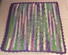 Beautiful Handmade baby blanket. 100% acrylic hand knitting sofa blanket gift