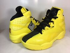 cb3ed2b9eb5a81 Men Reebok Shaq Attaq Modern Basketball Shoes Sz 9.5 Yellow Black BD4602  Attack
