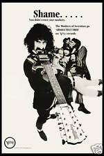 1970's OffBeat Rock: Frank Zappa on Verve Records Promotional Poster 1970  12x18