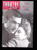 Theatre World Magazine July 1957 Paul Scofield and Megs Jenkins in A Dead Secret