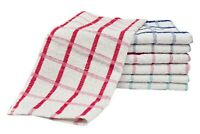 15 Heavy Duty Terry Tea Towels Set Kitchen Dish Cloth Cleaning Drying Best Price