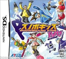 Used DS Snowboard Kids Party  NINTENDO JAPANESE IMPORT