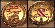 US Army 1st Battalion 21st Field Artillery 1st CAV CDR & CSM Challenge Coin