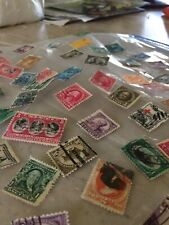 100 U.S. Postage Stamps, Used, 1880 - 2000, Rare, 3.5 Cents A Stamp! lots stamp