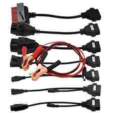 Full Set 8 Car Cable Connecter OBD2 OBDII Diagnostic tool CDP Pro DELPHI DS150E