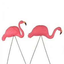 Bright Pink Flamingo Yard Ornament (2pack), New, Free Shipping