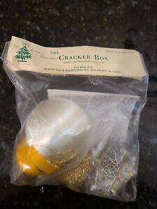 VTG The Cracker Box Christmas Ornament Kit  ' King's Ransom '