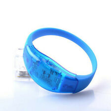 LED Light Voice Control Bracelet Bangle Sound Activated For Party Rave Concert