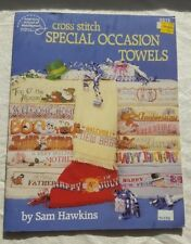 American School of Needlework Book 3512 Cross Stitch Special Occasion Towels