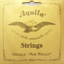 "Aquila 11U Tenor Ukulele Nylgut Strings Low D Tuning Uke String Set "" Wound D """