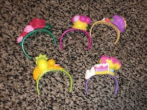 SHOPKINS SHOPPIES HEADBANDS LOT OF 6