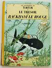 Tintin Le trèsor de Rackham Le Rouge HERGE éd Casterman rééd B31 1962