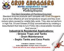 Crud Chuggers Plumbing Enzyme Packets