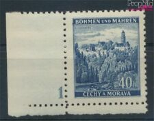 Bohemen en Moravië 25 met Nummerplaat postfris MNH 1939 Klingenberg (9310257