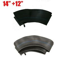 "Front 60/100-14"" + 80/100-12"" Rear tyre inner tube 2.50-14 3.00-12 Pit dirt bike"