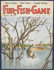 Magazine *Fur-Fish-Game* APRIL, 1979 !!! *SECRET TROUT*, *BASS FISHING* !!!