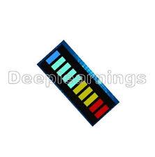 2PCS New 10 Segment Led Bargraph Light Display Red Yellow Green Blue
