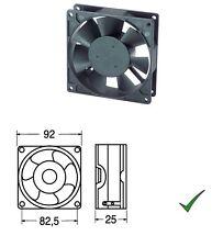 Ventola di Raffreddamento Ventilatore 12V su Bronzine 92x92x25mm
