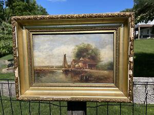 Fine Long Island NY Painting  Impressionist Robert Emmett Owen (1878 - 1957)
