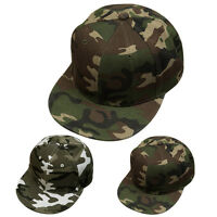 Unisex Men Women Camouflage Snapback Adjustable Baseball Cap Hip Hop Hat Fashion