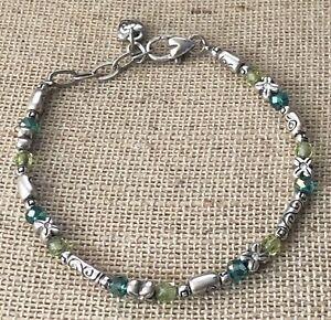 Brighton Gleam ? Green Beaded Bracelet