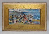 MARTHA WALTER (1875-1976, American) Impressionist Watercolor (1949) - ART BASEL