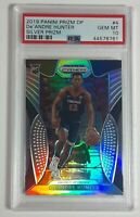 De'Andre Hunter 2019 Panini Prizm DP Silver Rookie Card RC SP PSA 10 LOW POP 93!