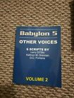 Babylon 5 Scripts Other Voices by Various Writers Volume 2 NEW