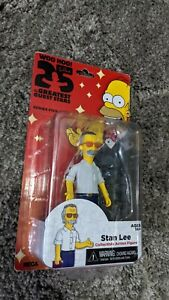 The Simpsons Neca Stan Lee 25 Year Anniversary Figure ( In Box Sealed )