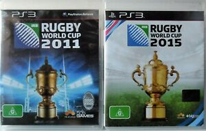 Rugby World Cup 2011 and Rugby World Cup 2015 PS3