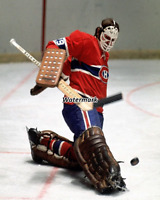 NHL 1970's Montreal Canadiens Ken Dryden Kick Save Color 8 X 10 Photo Picture