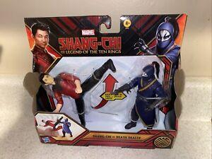 Marvel Shang-Chi & The Legend Of The Ten Rings Shang-Chi vs Death Dealer Set!
