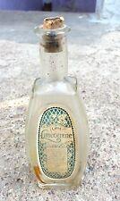 Vintage Early V Rare J & E Atkinson Limecerene Glass Bottle With Cork Cap London