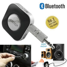 NEW Bluetooth Stereo Audio Receiver Wireless Speaker Car AUX Music Adapter 3.5MM