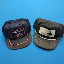 Vintage Alabama Power Electric Utilities Hats Caps Swingster-Park Avenue C2