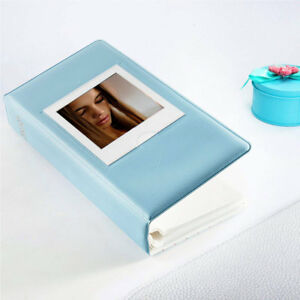 64 Pockets Photo Album Book for Fujifilm Instax Square SQ1 SQ20 SQ10 SP3 Blue
