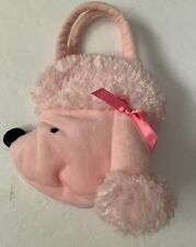 EUC Goody Bag Pink Poodle Face Extra Small Tote Bag