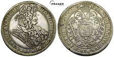 PRAGER: RDR, Leopold I., Taler 1698 KB, Kremnitz [1126]