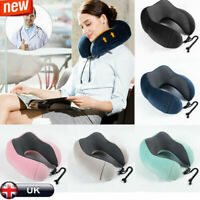 Memory Foam Rebound U -Shaped Travel Pillow Car Cushion Neck Support Head Rest A