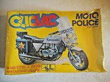 HELLER 1/16 CLICLAC MOTO 2027 KAWASAKI Z. 1300 MOTO POLICE
