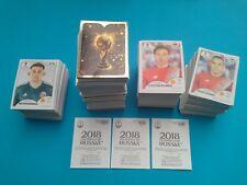 100 Figurine Panini Russia 2018 Stickers World Cup Russia 2018 Tutte Diverse