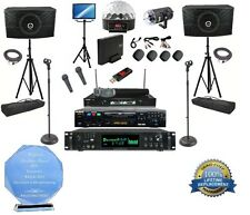 Professional Karaoke System All in one Karaoke Machine (4) Mics