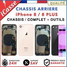 Chassis Complet Coque Arriere pour iPhone 8 et 8 Plus Or/Argent/Gris/Rouge/Noir