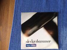 "Peter Gabriel SLEDGEHAMMER/DONT BREAK THIS RHYTHM 7"" Single. Original Sleeve. Ex"