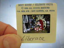 More details for original press photo slide negative - liberace - 1986 - c