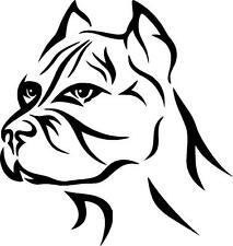 Pit bull tribal pitty dog vinyl decal sticker Pitbull