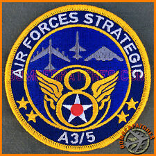 AIR FORCE GLOBAL STRIKE COMMAND A3/5 PATCH BARKSDALE, WHITEMAN AFB B-2 B-52 T-38