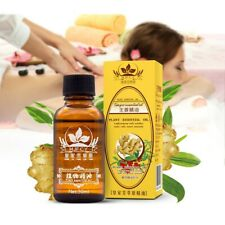 Natural Ginger Essential Oil Lymphatic Drainage Massage Oil Swelling Pain Relief