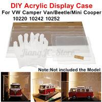 DIY Acrylic Display Case For Lego VW Camper Van//Mini Cooper 10220 10242 r z